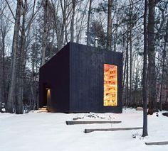 Biblioteca segreta nei boschi di New York