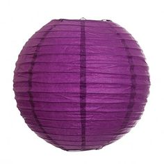 Koyal 20Inch Paper Lantern Plum Purple Set of 6 >>> Want additional info? Click on the image.