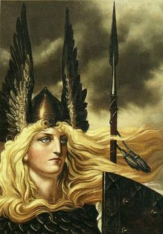 VAR - she is the ASYNJUR goddess of promises and agreements, and one of FRIGG's…
