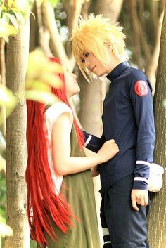 AMAZING cosplay ll Naruto ll Minato Uzumaki and kushina uzumaki