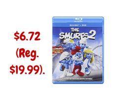 The Smurfs 2 on Blu-ray DVD UltraViolet Digital Copy $6.72 (Reg. $19.99).