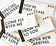 boarding pass cards