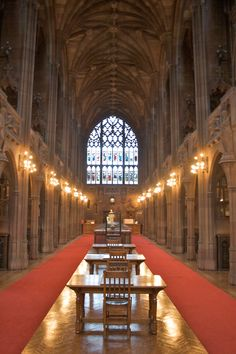John Rylands Library, Manchester, England. Completed in 1899 it is one of Europe's finest examples of Neo Gothic architecture. Its collections today exceed 750,000 printed volumes and more than a million manuscripts in 50 languages dating from the 3rd millennium BC