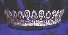 A 1911 diamond tiara bought by Almarhum, Sultan Idris for his wife to wear at the Coronation of King George V