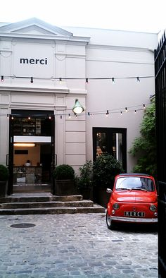 Second favorite store in the world. Merci in Paris.