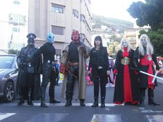 Hellboy Cosplay group by Lord-Stark.deviantart.com