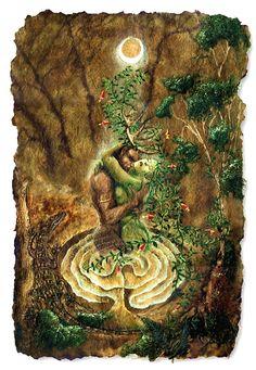 Beltane Wicca Pagan, May Tara Greene Beltane, Wiccan, Magick, Witchcraft, Celtic Mythology, Celtic Goddess, Pagan Art, Goddess Art, Earth Goddess