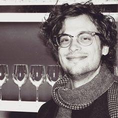 He's so gorgeous   : @tedhardwick    ❄❄❄ #matthewgraygubler #criminalminds #spencerreid #mgg