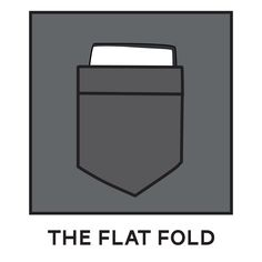 Flat Fold Pocket Square