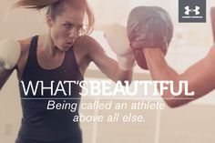 What's Beautiful. Being called an athlete above all else. #whatsbeautiful @UAWomen