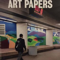 Some really thoughtful stuff in the new @artpapers transportation issue #artpapers #art #airport #travel #transportation #blackfolksonbikes #publicart #marta #autohaus #roundabout #museum #bus #nasa #viaduct