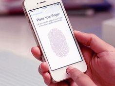 """Burlan la seguridad del """"Touch ID"""", el sensor de huella digital del iPhone 5S."""