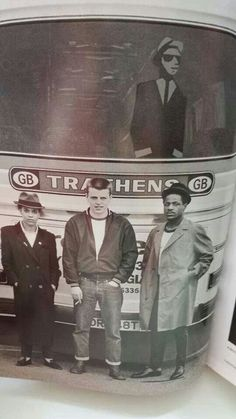 Pauline Black (The Selector), Suggs (Madness) Neville Staples (The Specials) circa 1979 Kinds Of Music, Music Love, Dance Music, Ska Music, Music Icon, Ska Punk, Skinhead Fashion, Rude Boy, Hollywood Party