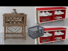 Amazing ! Super Recycling Ideas with Old Milk Crate   Jute Craft ideas - YouTube Jute Crafts, Milk Crates, Amazing, Recycling Ideas, Youtube, Craft Ideas, Craft, Cool Crafts, Crates
