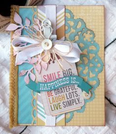 Audrey Pettit Sizzix Happiness Is Card2