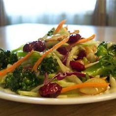 Cran-Broccoli Salad