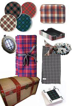 past & present: tartan (part 2) shopping roundup!   Design*Sponge
