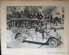 MARRUECOS ESPAÑOL. AUTOBUSES LA HISPANO AFRICANA. CEUTA-RINCON DEL MEDIK-TETUAN.H.1920. GRAN TAMAÑO. - Foto 1