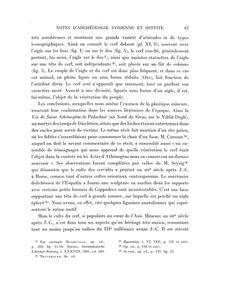 Persée : Portail de revues en sciences humaines et sociales, texte sur la migration et l'importance du culte du Dieu Cornu dans différentes civilisations