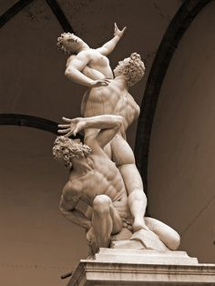 Rape of the Sabine Women -Giambologna (Florence)