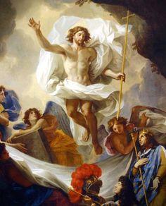 Charles LeBrun, St. Louis Presenting Louis XIV to the Risen Christ