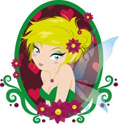 Tinkerbell Vector | trilly tinkerbell by daisypiccolafragola digital art vector portraits ...
