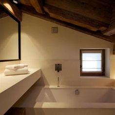 Salle de bain tout confort sous les toits