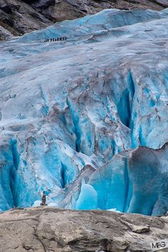 glacier hiking in Norway by MF G, via 500px
