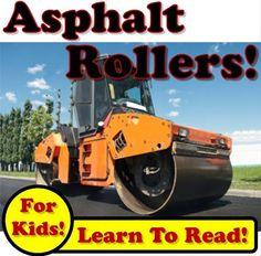 Asphalt Rollers: Big Compactors Squishing Hot Asphalt On The Jobsite! (Over 35+ Photos of Asphalt Rollers Working) by Kevin Kalmer, http://www.amazon.com/gp/product/B007NQ5Y0K/ref=cm_sw_r_pi_alp_3J4jrb07VVCDE