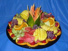 image of fruit platter for wedding | designer fruit platter a beautiful array of assorted fruits arranged ...