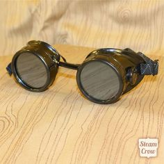 Good, solid goggles to customize.