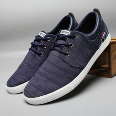 Navy Man Sneaker