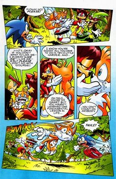 Fiona the fox. From sonic comics