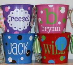 Personalized Gifts and Accessories - 5-quart Bucket