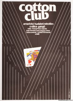 Movie Poster - The Cotton Club, Jan Weber, 1984