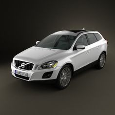 Volvo XC60 3d model from humster3d.com. Price: $75