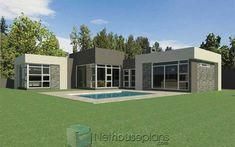 3 Bedroom House Plans | Single Story House Designs |NethouseplansNethouseplans Tuscan House Plans, Porch House Plans, House Layout Plans, Farmhouse Floor Plans, French Country House Plans, Bedroom House Plans, New House Plans, Double Storey House Plans, One Storey House