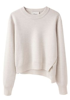 Cropped Merino Pullover by 3.1 Phillip Lim