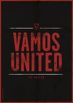 MLS Poster Series by Luke Barclay, via Behance