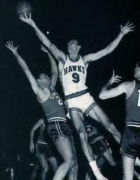 This Day In NBA History: 1958 - Bob Pettit pours in 50 points and the St. Louis Hawks beat the Boston Celtics, 110-109, to win the NBA Finals four games to two. Pettit set a Finals scoring record that would stand until Elgin Baylor broke it in 1962. This championship remains the only one claimed by the Hawks franchise.  keepinitrealsports.tumblr.com  keepinitrealsports.wordpress.com