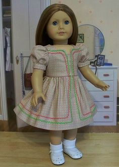 1940s Checked Ric-Rac Party Frock | Flickr - Photo Sharing!