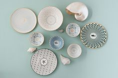 GIFTCOMPANY | Geschirr, Salinas Vintage Buffet, Shabby Vintage, Decorative Plates, Tableware, Kitchen, Gifts, Home Decor, Kids Toy Kitchen, Ceramic Plates