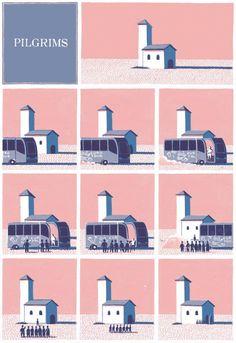 Pilgrims : Jon McNaught