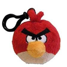 Don't fail on any level! Our Red Bird Angry Birds Backpack Clip is the perfect gift to an avid Angry Birds gamer. #fungifts