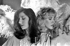 Stevie Nicks and Sharon Celani (photo by HWIII)