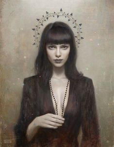 "Artist:Tom Bagshaw""A Blacker Heart"""