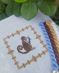 """Lycette Needlepoint on Instagram: """"Are you on the list for Lycette's needlepoint class at @cecedupraz in Marblehead? 🐒 I will be teaching a class on the 24th from 3-4 pm…"""" Needlepoint Belts, Needlepoint Stitches, Needlepoint Patterns, Needlepoint Canvases, Bargello Patterns, Tapestry Kits, Hand Painted Canvas, Canvas Patterns, Alphabet Charts"""
