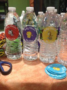 Botellas de agua personalizadas Más