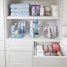 Bathroom organization 433893745352418273 - The Home Edit Bath & Laundry Labels Bathroom Drawers, Small Bathroom, Bathroom Ideas, Bathroom Wall, Gold Bathroom, Ocean Bathroom Decor, Teen Bathrooms, Bathroom Cupboards, Closet Drawers