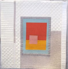 Hot Spot by Krista Fleckenstein, 2015 Small Quilts, Mini Quilts, Baby Quilts, Quilting Projects, Quilting Designs, Quilt Modernen, Miniature Quilts, Contemporary Quilts, Traditional Quilts